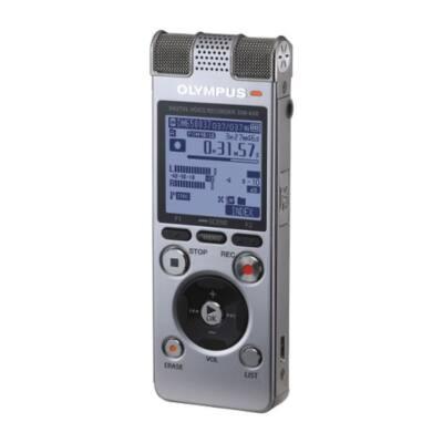 OLYMPUS Diktafon DM-650 - 4GB beépített+bővíthető memória +tok, szíj