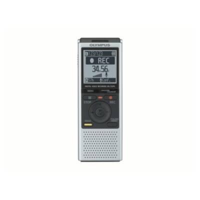 OLYMPUS Diktafon VN-732PC 4GB MP3 és WMA, elemek és utazó-USB kábel, ezüst