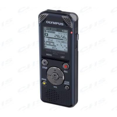 OLYMPUS Diktafon WS-813 fekete (8GB) újratölthető akkuval