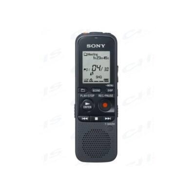 SONY Diktafon ICD-PX333 LCD, 4GB, Monó, MP3, intelligens zajszűrés, hangra induló felvétel, felvételi idő 67 óra (128 kb